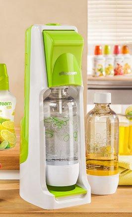 Sodastream Cool mit 2 PET-Flaschen und Zylinder
