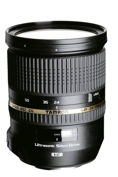 Amazon.fr Tamron Weitwinkelobjektiv 24-70mm F/2,8 mit Bildstabilisator, USD-Motor und Spritzwasserschutz