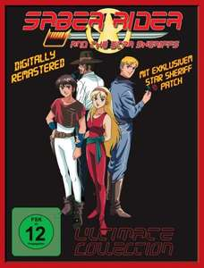 Saber Rider and the Star Sheriffs DVD BOX @ Amazon.de für 60,69 €
