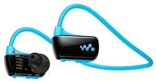 "Sony™ - In-Ear Kopfhörer inkl.MP3-Player ""NWZ-W273L"" (Wasserdicht,4GB,Blau) [B-Ware] ab €45,10 [@Sony.de]"
