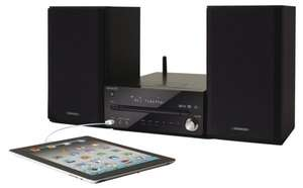 Kenwood UD-NF7 HiFi-Stereo System (CD-RW, UKW-Tuner, Wi-Fi, 50 Watt, USB) mit AirPlay schwarz  inkl. Vsk für  212,16 @ amazon.fr