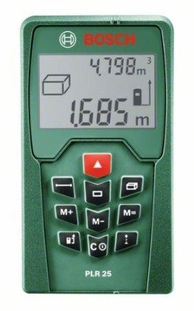 Cyber Monday - (AMAZON) Bosch PLR 25 Laser-Entfernungsmesser + Bosch Schlagbohrmaschine PSB 50 für 60€