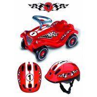 [Ausverkauft:] BIG Bobby Car Classic Racing Editon + Gratis Helm im Renndesign für 21,98 €