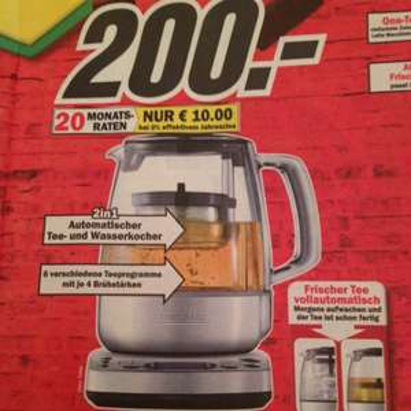 Teekocher Gastroback Gourmet Tea Advanced Automatic 42439