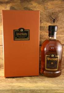 Aberfeldy 21 Years Single Highland Malt Scotch Whisky für 54,99 zzgl Versand / MeinPaket