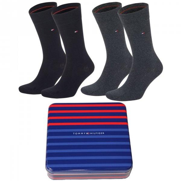 TOMMY HILFIGER 5 Paar Socken inkl Geschenkbox  für 19,95€