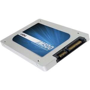 Black Friday - Crucial M500 2.5 120GB SSD für 73,48€