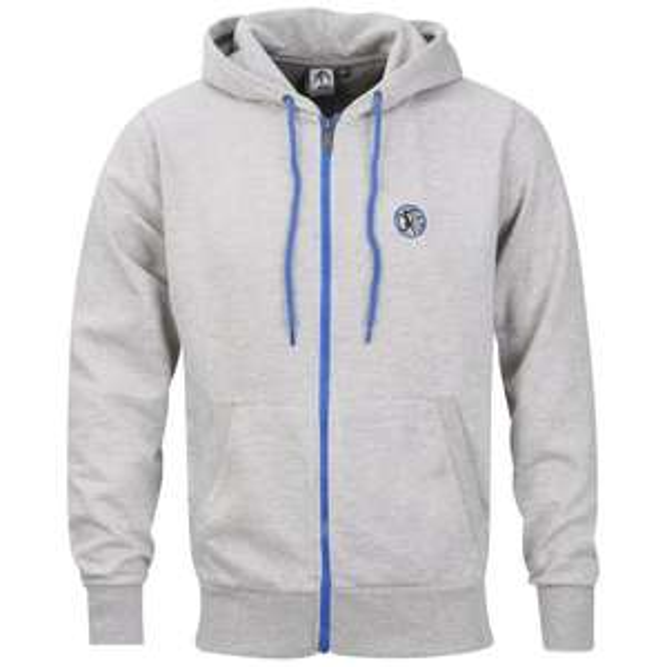 Carter Men's Rafa Zipped Sweatshirt - Grey Marl für 13€ @Zavvi