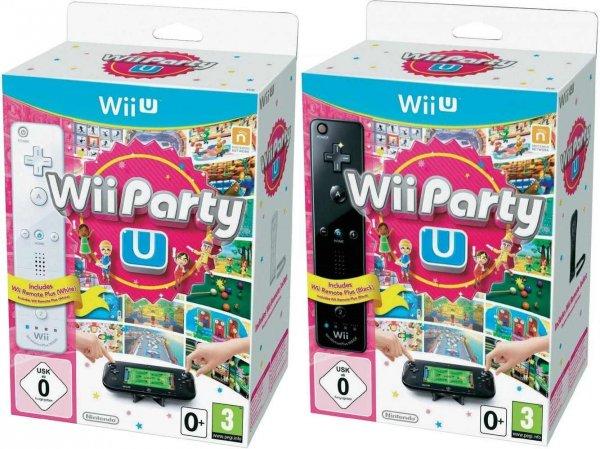 Nintendo™ - Wii U Party inkl. Remote Motion Controller (Weiß,Schwarz) ab €32,27 [@Digitalo.de]