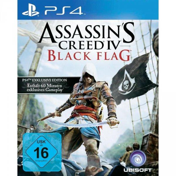 PS4 Assassin´s Creed 4: Black Flag - Bonus Edition für 52,45€ (mit qipu: 49,83€) @ CONRAD.DE