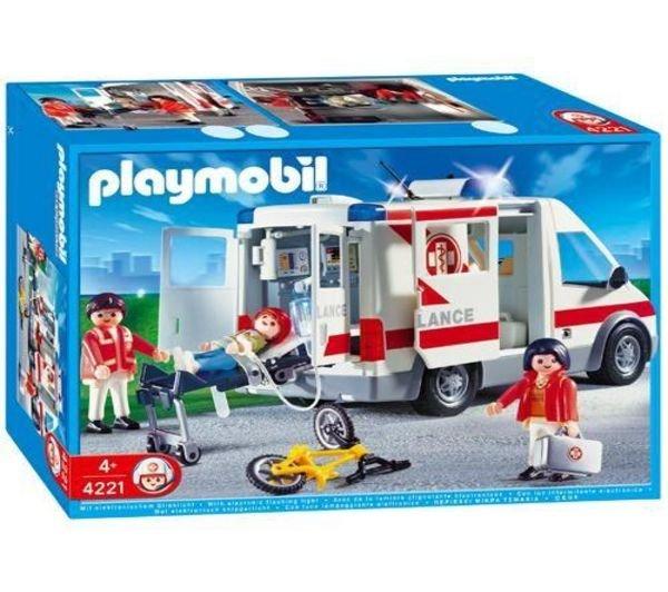 Diverse Playmobil Sets  bei Thalia bis zu 20% unter Idealo z.b. 4221 Krankentransporter