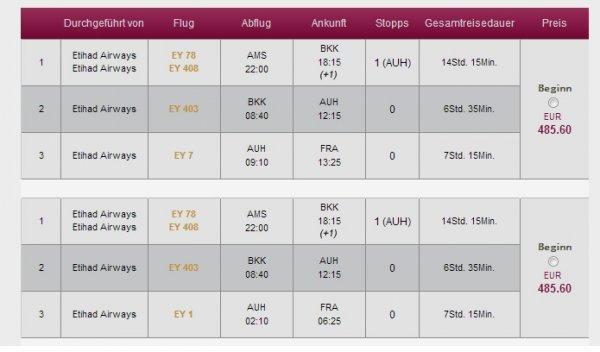Gabelflug nach Bangkok [AMS-BKK > BKK-AUH-FRA/DUS 485€/510€ zb.09.02-23.02]