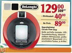 DeLonghi Circolo Flow-Stop beim Globus Isserstedt für 89,- Euro