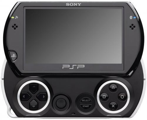 PlayStation Portable - PSP Go! Konsole, Piano Black für 119€.