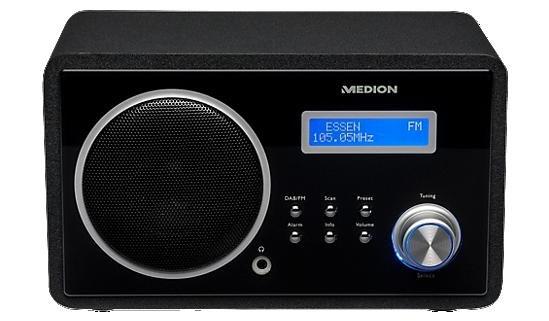 DAB+ Radio mit PLL UKW Tuner von Medion für 39,95€ MD83904