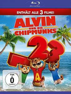 Alvin und die Chipmunks - Teil 1-3 [Blu-ray] @Amazon.de