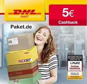 DHL Packstation mit 5€ Cashback von Qipu