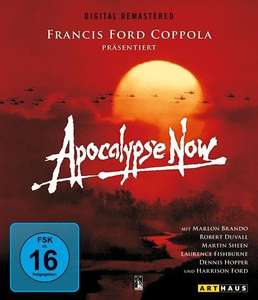 Blu-ray: Apocalypse Now (Kinofassung & Redux) - Digital Remastered @buch.de: 6,28€ inkl. Versand