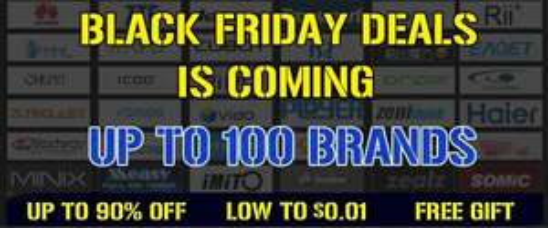 Black Friday Deal bei Geekbuying