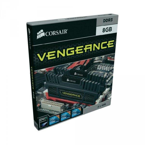 "Corsair™ - 8GB Kit DDR3-1600 Desktop Arbeitsspeicher ""Vengeance"" (2x4GB,CL9,1.5V) ab €56,04 [@Conrad.de]"