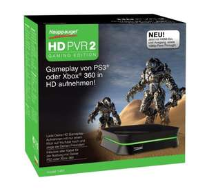 Hauppauge HD PVR 2 Gaming Edition für 109,21€ - externe Videokarte - kompatibel mit XBOX ONE und PS4 @ Black Friday