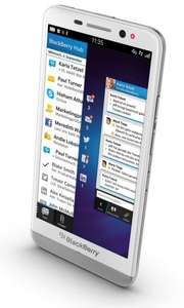 Cyber Monday BlackBerry Z30 Smartphone (12,7 cm (5 Zoll) AMOLED Touchscreen, 8 Megapixel Kamera, 2GB RAM, 16GB Speicher) für 439€ (517€ idealo)