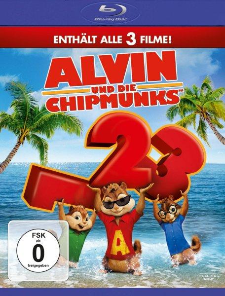 Alvin und die Chipmunks - Teil 1-3 [Blu-ray; 12,97 € @ amazon]