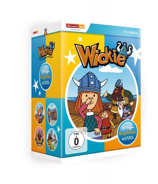 [Buch.de] Wickie und die starken Männer - Komplettbox o. Vsk für 33,44 €
