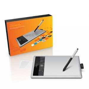 Cyber Monday - Wacom Bamboo Fun Pen & Touch Small Grafiktablett mit Stift & Multitouch für 69€ @Amazon
