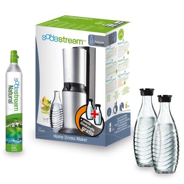 """Der """"noch bessere"""" Cyber Monday Deal: Soda Stream Crystal +1 Glas-Karaffe extra für 69,95€ (Vergleichspreis 96€)"""