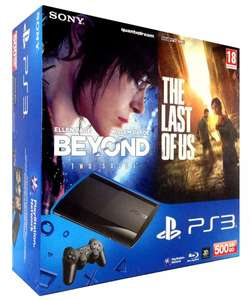 Playstation PS3 500 GB + The Last of Us + Beyond Two Souls [WoW - Deal - eBay]