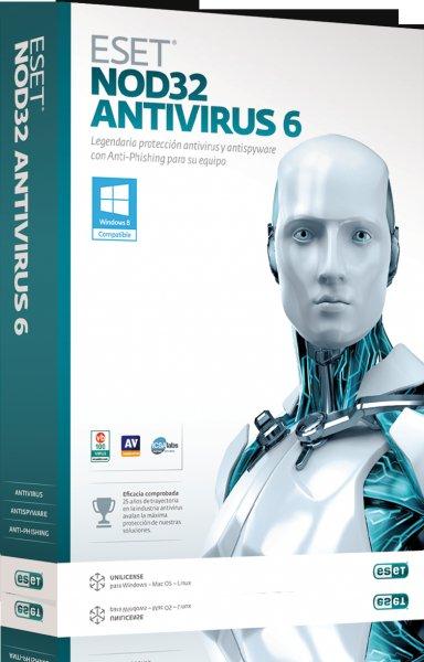 Eset NOD32 Antivirus 6 Kostenlose Jahreslizenz