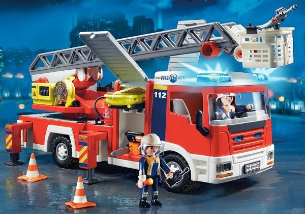Playmobil 4820 Feuerwehr Leiterfahrzeug für 38,99 € statt ~ 55,-€