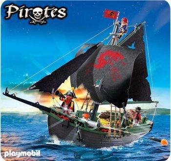 Playmobil Piratensegler mit RC-Unterwassermotor (5238)