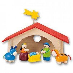 selecta Weihnachtskrippe für 19,99€ statt 74,99€ UVP @ Baby-Markt & 6% Qipu