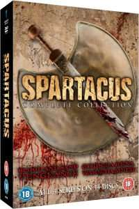 [Zavvi] Spartacus - The Complete Collection DVD