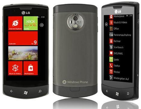 LG Optimus 7 E900 (Vodafone Branding) 16GB Schwarz [@MeinPaket.de]