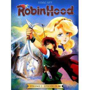 Robin Hood Vol. 1, Episoden 01-26 / Robin Hood Vol. 2, Episoden 27-52 je 10,97€