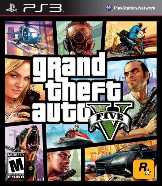 Grand Theft Auto V (PS3) [Digital Code] für 25 €