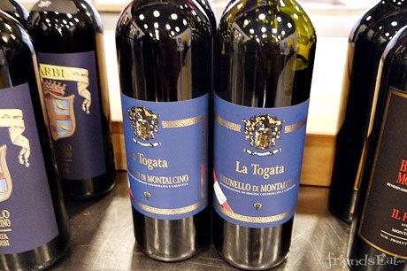 La Togata, Brunello di Montalcino DOC, Rotwein Toskana 0,75 l 2007  kostenl. Versand + Gutschein