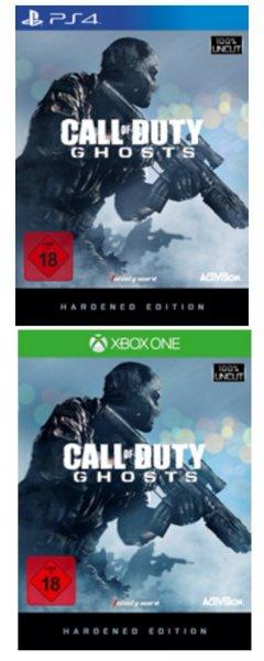 [Media Markt.de] Call of Duty Ghosts Hardened Edition (PS4/ONE) für 75 Euro bei Filiallieferung / bei Versand 80 Euro