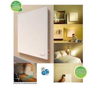 eHeater Energiespar-Ganzraumheizung mit Thermostat für 119,95 € bei plus.de