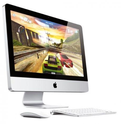 "Apple iMac 54.6cm 21.5"" QC i5 2.5GHz 4GB MC 309 D/A + Volleyball 1 Euro"