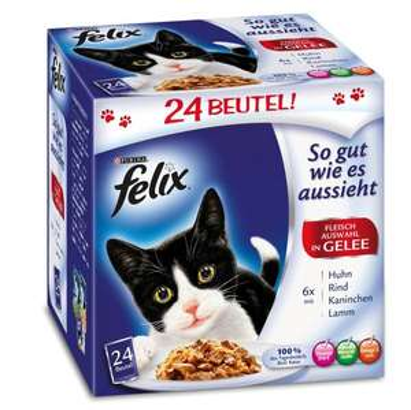 Felix 24x100g (versch.Sorten) für 5,99€ bei Fressnapf Berlin (im Markt)