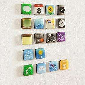 iKühlschrank - Apps für die Küche (Kühlschrank-Magnete)