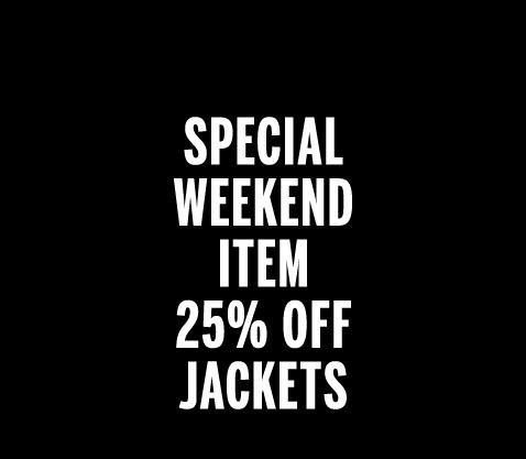 25% Rabatt auf alle Jacken bei Weekday (online & offline)