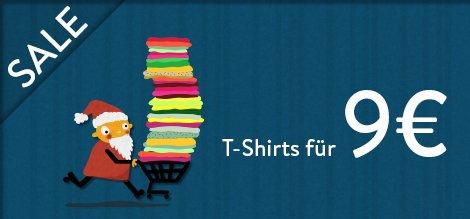 T-Shirt Räumungsverkauf bei laFraise.com
