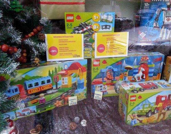 [Lokal Held der Steine Frankfurt] LEGO Duplo Eisenbahn Starter-Set 10507 - 10506 Erweiterung gratis dabei