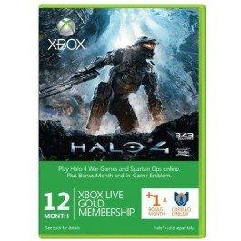 13 Monate Xbox Live + Halo 4 Corbulo Emblem (Xbox One/360)