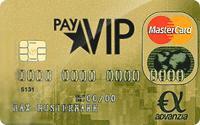 payVIP MasterCard GOLD - Kostenlose Kreditkarte + 10 EUR MaxChoice Gutschein